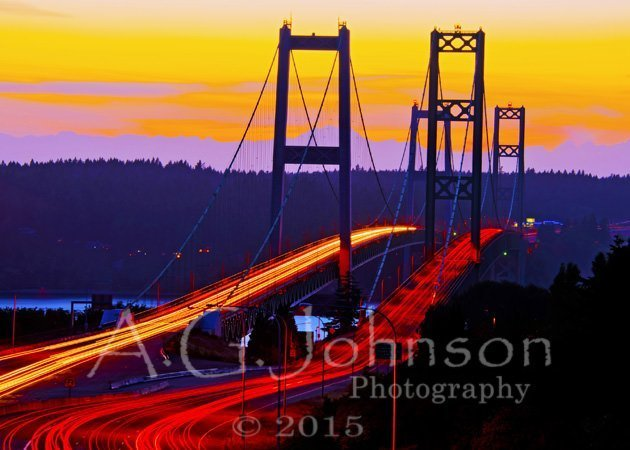 Tacoma Narrows, Tacoma Narrows Bridge, Gig harbor, Olympic mountains how to use center weighted metering