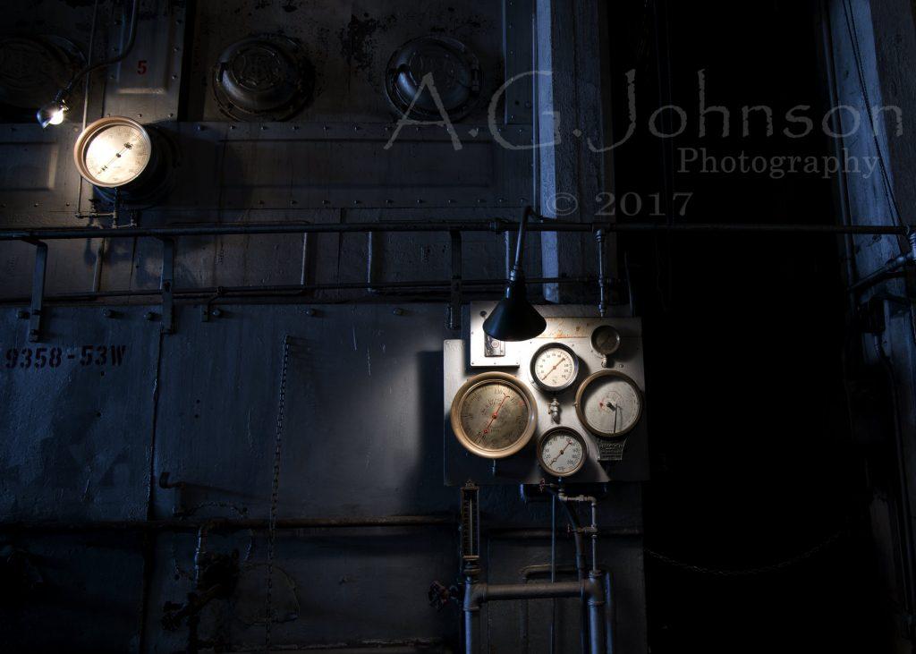 Seattle, Georgetown Steam Plant, Steampunk, Spot metering, Metering Modes.
