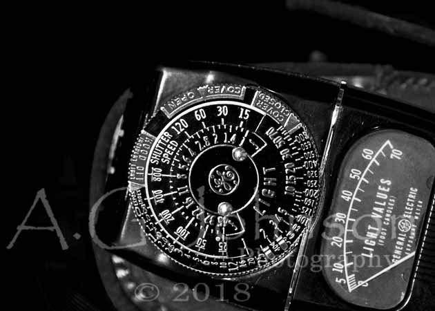 Light Meter, classic light meter, fine art photography, metering modes, how does a light meter work