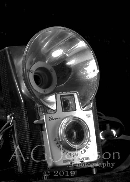Kodak brownie, fine art photography, classic cameras, vintage camera art, personal photography project