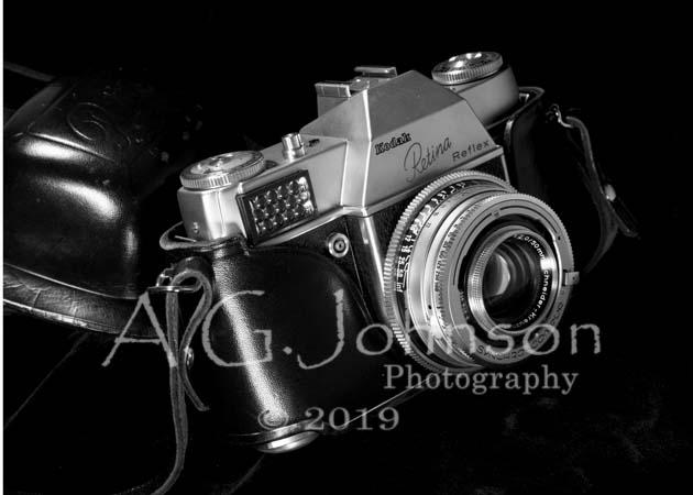 Vintage Camera, Kodak retina reflex, fine art photography, personal photography project